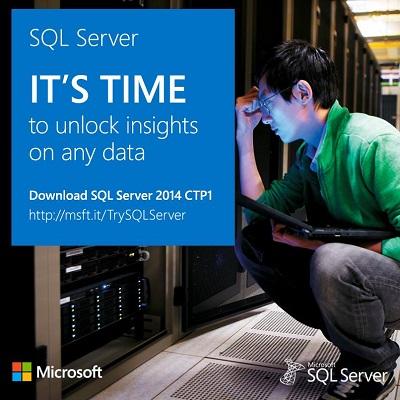 Try SQL Server 2014 CTP1